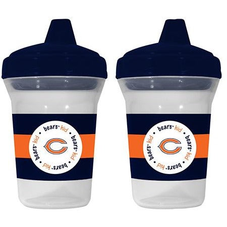 NFL Chicago Bears Toddlers Sippy Cup 5 oz. 2-Pack by baby fanatic