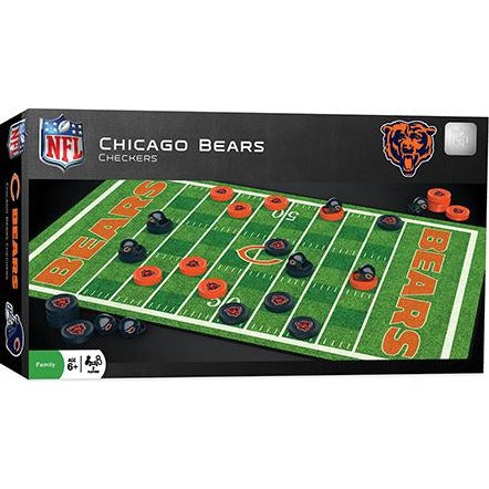 NFL Chicago Bears Checkers Game by Masterpieces Puzzles Co.
