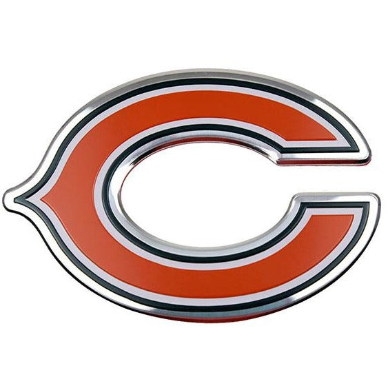 Nfl Chicago Bears 3 D Color Logo Auto Emblem By Team Promark All