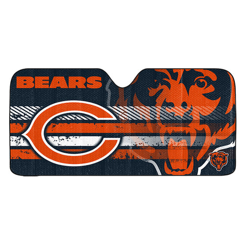 NFL Chicago Bears Automotive Sun Shade Universal Size by Team ProMark