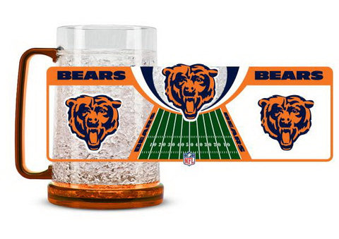 NFL Chicago Bears 16oz Crystal Freezer Mug by Duck House