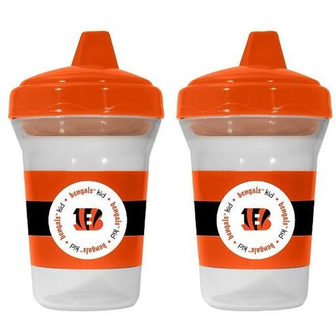 NFL Cincinnati Bengals Toddlers Sippy Cup 5 oz. 2-Pack by baby fanatic