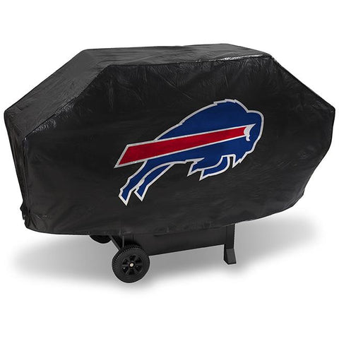 NFL Buffalo Bills 68 Inch Deluxe Vinyl Padded Grill Cover by Rico Industries