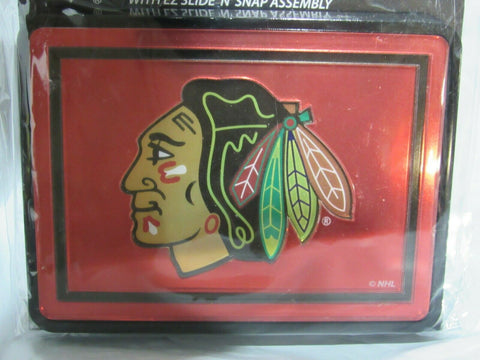 NHL Chicago Blackhawks Laser Cut Trailer Hitch Cap Cover by WinCraft