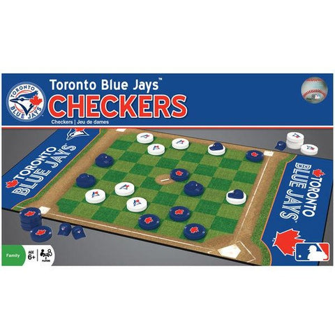 MLB Tampa Bay Rays Checkers Game by Masterpieces Puzzles Co.