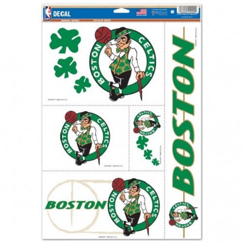 NBA Boston Celtics Ultra Decals Set of 5 By WINCRAFT