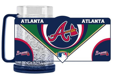 MLB Atlanta Braves 16oz Crystal Freezer Mug by Duck House