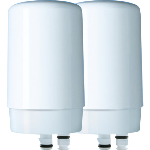 Brita On Tap FR-200 Faucet Filtration System Filters White 2 pack