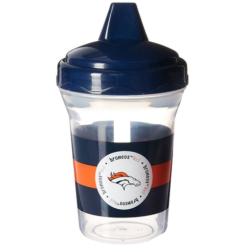 NFL Denver Broncos Toddlers Sippy Cup 5 oz. 2-Pack by baby fanatic
