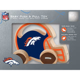 NFL Real Wood Baby Push & Pull Toy by MasterPieces Puzzle Co.
