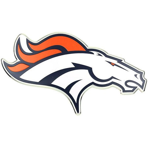 NFL Denver Broncos 3-D Color Logo Auto Emblem By Team ProMark