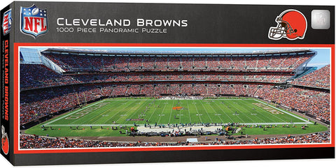 NFL Cleveland Browns 1000pc Puzzle by Masterpieces Puzzles