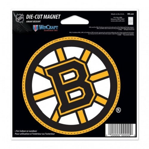 225f47fd49f NHL Boston Bruins Current Logo 4 inch Auto Magnet by WinCraft – All ...