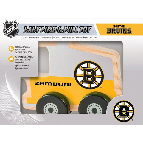 NHL Real Wood Baby Push & Pull Toy by MasterPieces Puzzle Co.