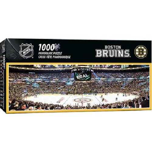 34cd9d5f NHL Panoramic 1000 pc Jigsaw Puzzle by Masterpieces Puzzles Co Choose Team