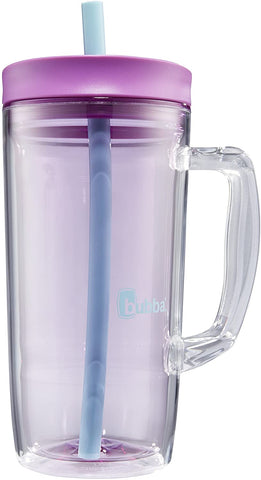 Bubba Envy Double Wall Insulated Straw Tumbler with Handle 32 fl oz Purple
