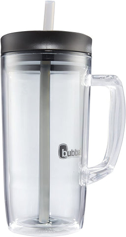 Bubba Envy Double Wall Insulated Straw Tumbler with Handle 32 fl oz Smoke
