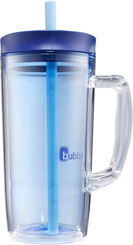 Bubba Envy Double Wall Insulated Straw Tumbler with Handle 32 fl oz Blue