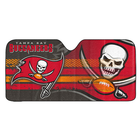 NFL Tampa Bay Buccaneers Automotive Sun Shade Universal Size by Team ProMark