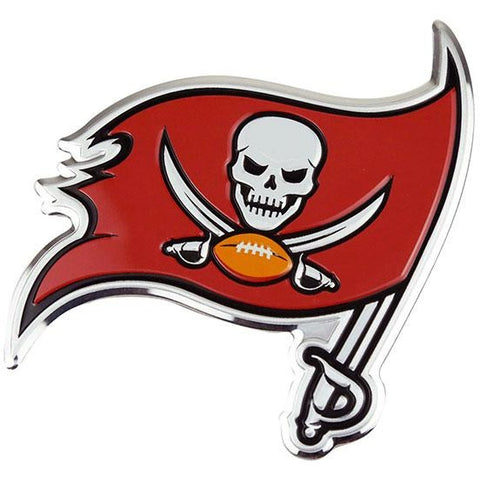 NFL Tampa Bay Buccaneers 3-D Color Logo Auto Emblem By Team ProMark
