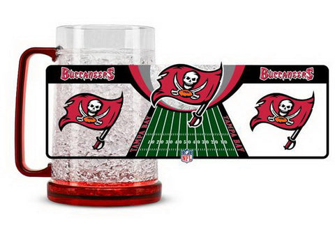 NFL Tampa Bay Buccaneers 16oz Crystal Freezer Mug by Duck House