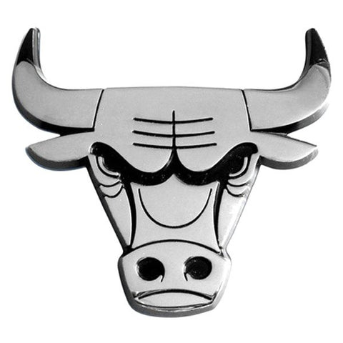 NBA Chicago Bulls 3-D Chrome Heavy Metal Emblem By Team ProMark
