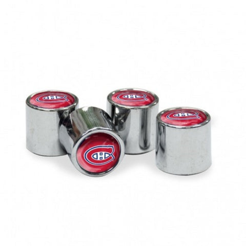 NHL Montreal Canadiens Chrome Tire Valve Stem Caps by WinCraft