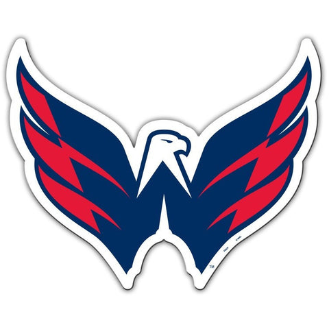 NHL 12 INCH AUTO MAGNET WASHINGTON CAPITALS ALTERNATE LOGO