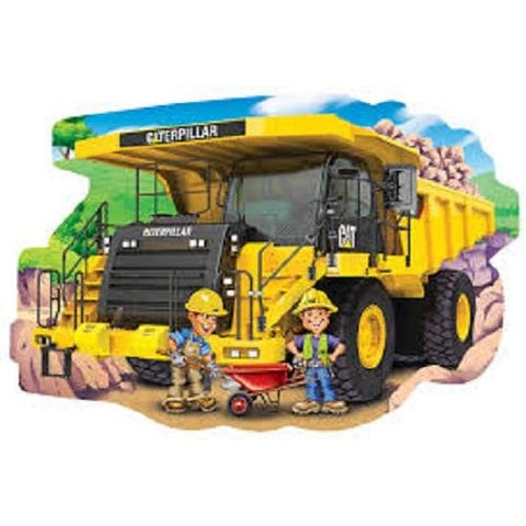 Cat (Caterpillar) Dump Truck Jigsaw Puzzle 36 Piece Floor Masterpieces Puzzles