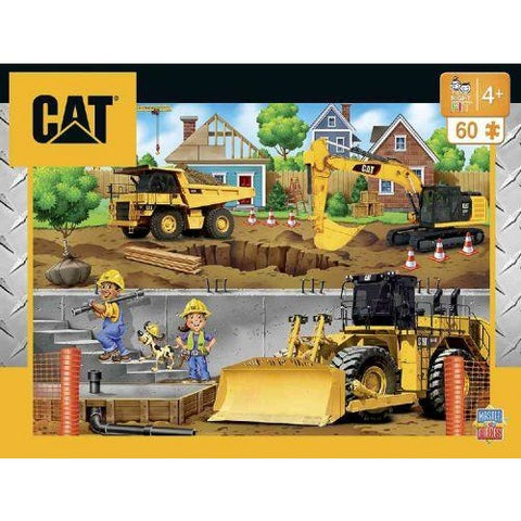 Cat (Caterpillar) in My Neighborhood Jigsaw Puzzle 60 Piece Masterpieces Puzzle