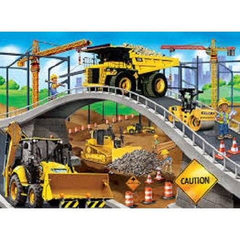 Cat (Caterpillar) Under The Bridge Jigsaw Puzzle 60 Piece Masterpieces Puzzle