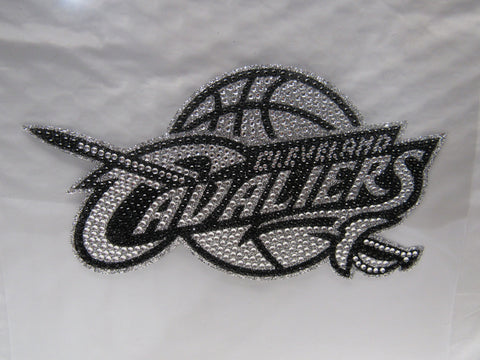 NBA Cleveland Cavaliers Bling Emblem Adhesive Decal By Team ProMark