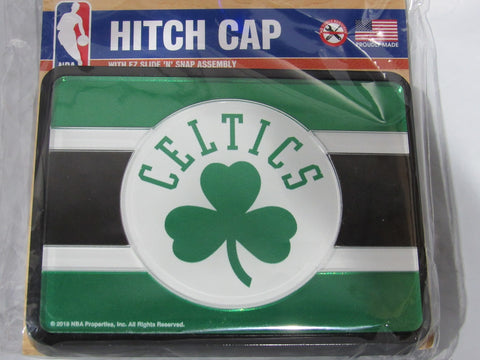NBA Boston Celtics Laser Cut Trailer Hitch Cap Cover by WinCraft