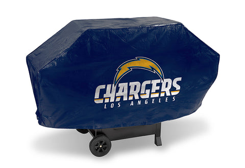 NFL Los Angeles Chargers 68 Inch Deluxe Purple Vinyl Padded Grill Cover by Rico Industries