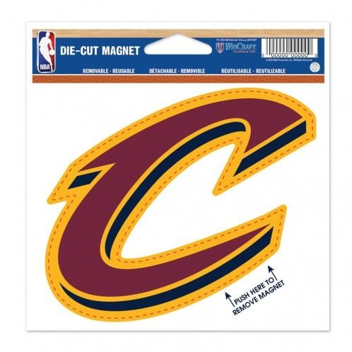 NBA Cleveland Cavaliers Logo 4 Inch Auto Magnet By WinCraft