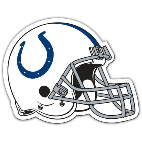 NFL 12 INCH AUTO MAGNET INDIANAPOLIS COLTS HELMET