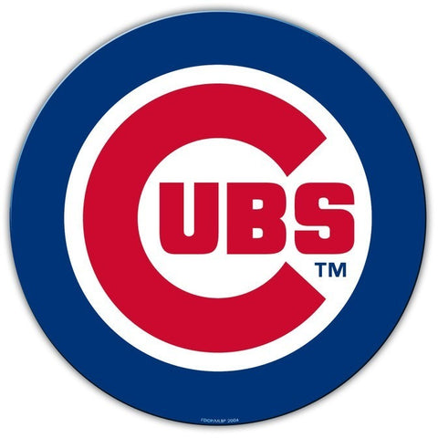 MLB 12 INCH AUTO MAGNET CHICAGO CUBS CURRENT LOGO