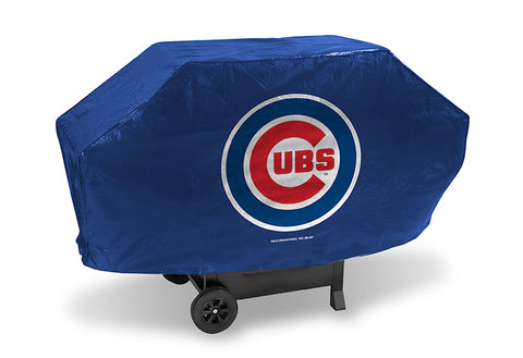 MLB Chicago Cubs 68 Inch Deluxe Vinyl Padded Grill Cover by Rico Industries