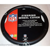 NFL NIB STEERING WHEEL COVER -VINYL - NEW YORK JETS