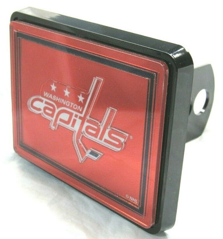 NHL Washington Capitals Laser Cut Trailer Hitch Cap Cover by WinCraft
