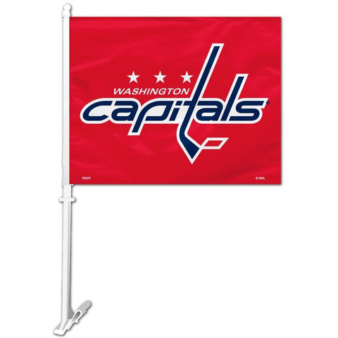 NHL Washington Capitals Logo Window Car Flag RICO or Fremont Die