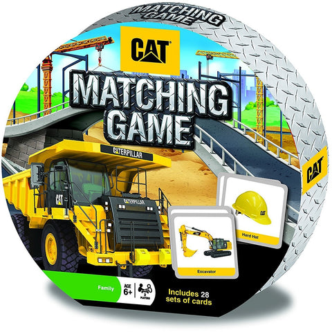 CAT (Caterpillar Equipment) Matching Game Masterpieces Puzzles Co.