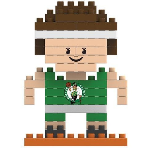 NBA Boston Celtics Team Player Shaped BRXLZ 3-D Puzzle 71 Pieces