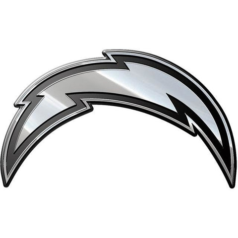 NFL Los Angeles Chargers 3-D Chrome Heavy Metal Emblem By Team ProMark