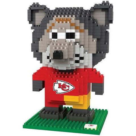 NFL Kansas City Chiefs Team Mascot BRXLZ 3-D Puzzle 648 Pieces