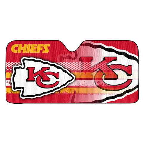 NFL Kansas City Chiefs Automotive Sun Shade Universal Size by Team ProMark