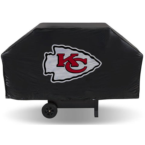 NFL Kansas City Chiefs 68 Inch Vinyl Economy Gas / Charcoal Grill Cover
