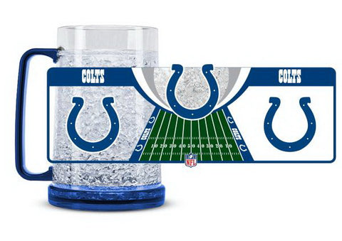 NFL Indianapolis Colts 16oz Crystal Freezer Mug by Duck House