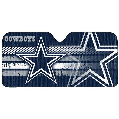 NFL Dallas Cowboys Automotive Sun Shade Universal Size by Team ProMark