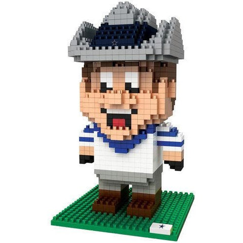 NFL Dallas Cowboys Team Mascot BRXLZ 3-D Puzzle 560 Pieces